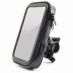 Suporte Case Permeável De Moto Para Smartphone