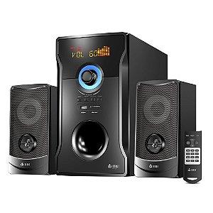 Caixa De Som Speakers 2.1 Bluetooth 60w Com Subwoofer