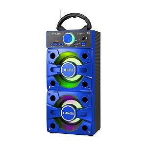 Caixa De Som Bluetooth 12w Super Bass