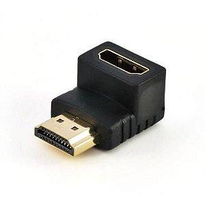 Adaptador 90º HDMI M/F