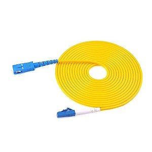 Cabo de fibra óptica SC-LC SM 3M Monomodo