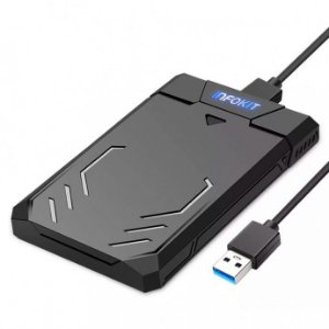 Case Para Hd 2.5 Sata Ii Usb 3.0 5gbps Gamer
