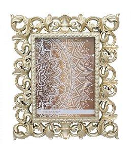 Porta-Retrato 15 x 20 cm Moldura Dourada