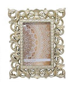 Porta-Retrato 10x15cm Moldura Dourada