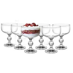 Jogo 6 Taças De Champagne 200ml Klaudie Bohemia