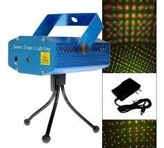Strobo Projetor Laser Luzes Festas