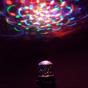 Luz Led Atmosfera Colorido Lâmpada De Projeção