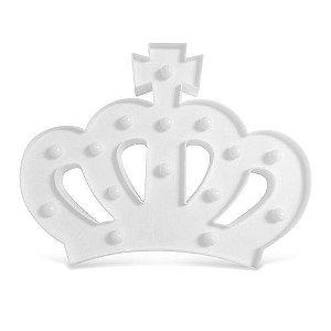 Decoração Luminária Grand Led Coroa
