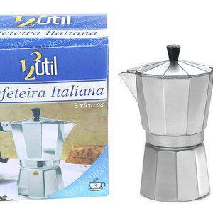Cafeteira Italiana Para 3 Xícaras