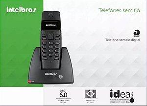 Telefone Sem Fio Ts40id Identificador De Chamadas Intelbras