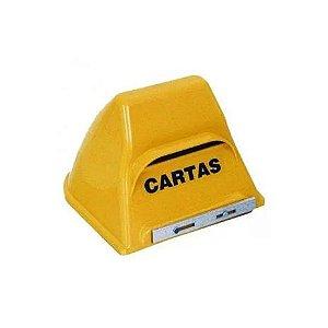 Caixa Correio Plástica Bolinha Amarela