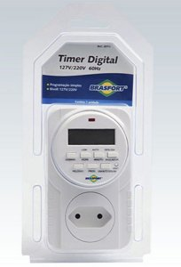 Timer Digital Brasfort Bivolt