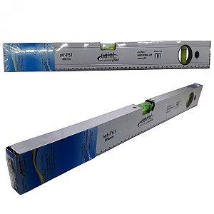 Nível De Bolhas Alumínio Imantada C/ Base Magnético 50cm
