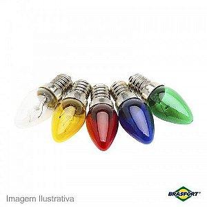Lâmpada Chupeta Colorida 7w 127/220v Incandescente E-14