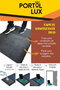TAPETE SANITIZANTE DUO