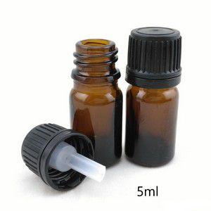 Frasco amber 5 ml