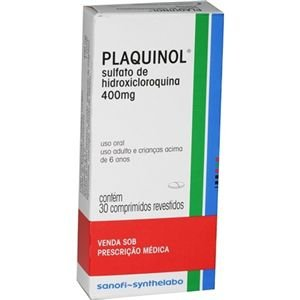 Plaquinol Hidroxicloroquina 400 mg  30 comprimidos