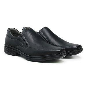Sapato Social Masculino De Couro Paris Preto - Ref. 44501