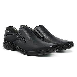 Sapato Social Masculino De Couro Paris Preto - Ref. 44507