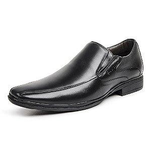 Sapato Social Masculino Savelli De Couro 1232 Preto - Super Liquidação
