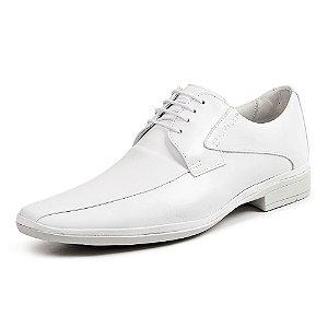 Sapato Social Masculino Savelli De Couro 1222 Branco - Super Liquidação