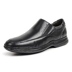 Sapato Social Masculino Savelli De Couro 8353 Preto - Super Liquidação