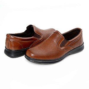 Sapato Masculino De Couro Legítimo 6014 Havana - Super Liquidação