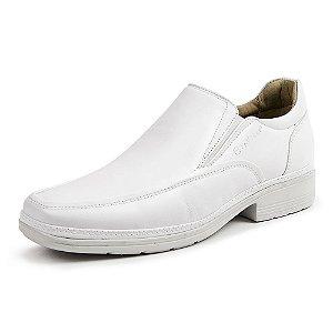 Sapato Social Masculino Savelli De Couro 4902 Branco - Super Liquidação