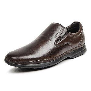 Sapato Social Masculino Savelli De Couro 8356 Café - Super Liquidação