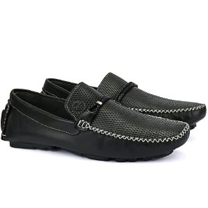 Mocassim Mr. Light Diamante Preto