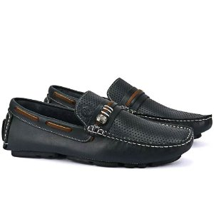 Mocassim Mr. Light Marinho - Ref. 35
