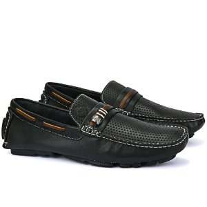 Mocassim Mr. Light Latego Preto