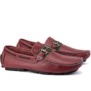 Mocassim Mr. Light Bridão Bordo - Ref. 37