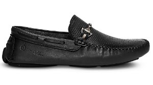 Mocassim Mr. Light Diamante Esfumaçado Preto
