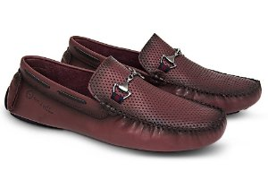 Mocassim Mr. Ligth Diamante Esfumaçado Bordo