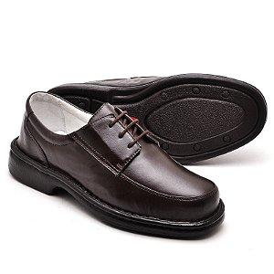 Sapato Social Comfort de Couro Legítimo - Ref.2002