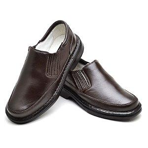Sapato Comfort de Couro Legítimo - Ref.2009