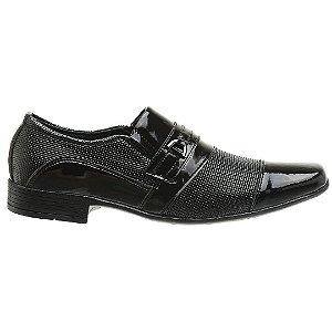 Sapato Social Verniz Preto - Ref. 1021E