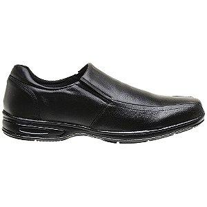 Sapato Masculino Em Couro Legítimo Preto - Ref. 5030