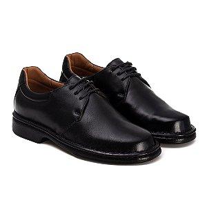 Sapato Masculino Em Couro Legítimo - Ref. 2004 Preto
