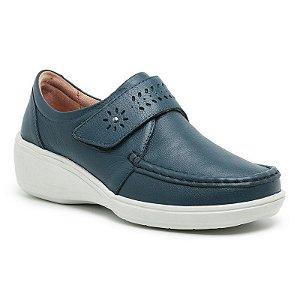 Sapato Feminino De Couro Legítimo Linha Comfort - Jasmim Marinho