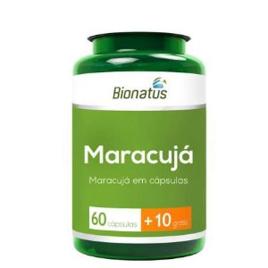 MARACUJÁ 60 CAPSULAS + 10 GRÁTIS