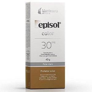 EPISOL COLOR FPS 30 PELE CLARA 40GR