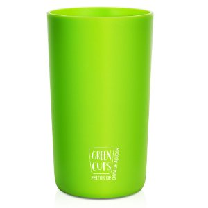 Green Cups Verde 500ml - Copo Eco Cana de Açúcar