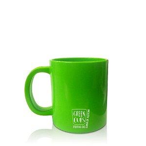 Green Cups 300ml - Caneca Eco Cana de Açúcar (Verde)