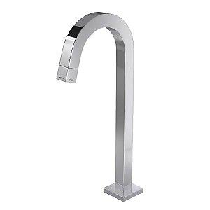 Torneira de mesa bica alta para lavatório Tube