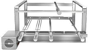 Giragrill Kit 4305R Inox (5 Espetos)