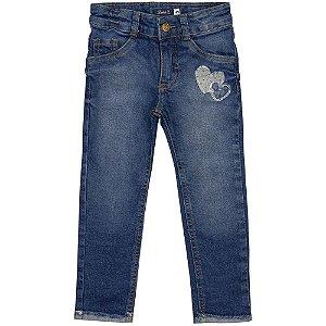 Calça Infantil Look Jeans Super Skinny Jeans