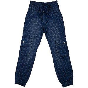 Calça Juvenil Look Jeans Clochard Jeans