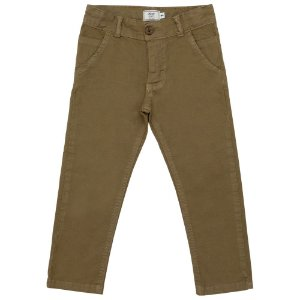 Calça Infantil Look Jeans Sarja Chino Collor